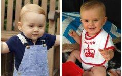 Surastas mažojo princo George'o antrininkas FOTO