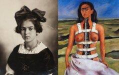 Frida Kahlo - nepalaužiama karalienė, kurios lovoje vietos rasdavo ir vyrai, ir moterys