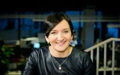 Austėja Landsbergienė tapo naujos TV laidos vedėja