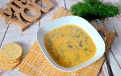 Vengriška grybienė, kurios paragavęs vyras sakė, kad tai skaniausia jo valgyta sriuba