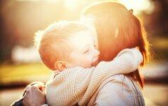 Tris pametinukus auginanti Olga nėrė į mamišką verslą