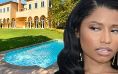 Kas slepiasi už prabangių Nicki Minaj namų durų