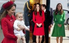 Kaip pasikeitė Kate Middleton stilius tapus mama FOTO