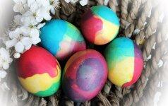 Marginame kiaušinius: mažai darbo, o rezultatas – pritrenkiantis