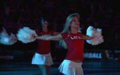 Шведская спортсменка подняла скандал из-за коротких юбок латвийских чирлидеров
