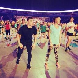 Didžiausiame treniruočių festivalyje Lietuvoje – pasaulinio lygio treneriai (FOTO)
