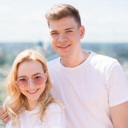 """""""PANELĖS"""" viršelio herojai Paula Valentaitė ir Ignas Lelys nusifilmavo romantiškame vaizdo klipe"""