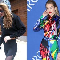 Pagaliau, Gigi! Gąsdinantis modelio lieknumas dingo - susigrąžintas moteriškumas (FOTO)