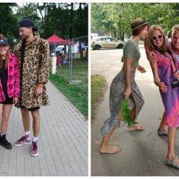 """""""Karklės"""" festivalio lankytojų stilius: jaunieji festivaliautojai rinkosi išskirtinius aprangos derinius (FOTO)"""