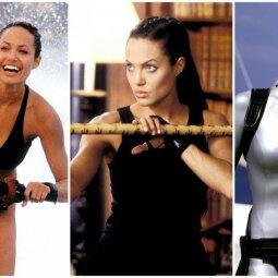 """Naujoji karta: Angeliną Jolie garsiajame filme """"Lara Krof"""" keičia panašių bruožų turinti mergina (APKLAUSA)"""