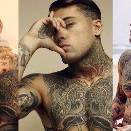 Tatuiruotasis gražuolis vienas ypatingai žavi, kitas atstumia (FOTO)
