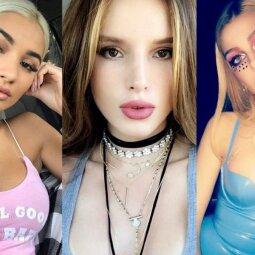 """5 jaunimo numylėtinės, kurios """"Instagrame"""" demonstruoja akivaizdžiai per daug nuogybių (FOTO)"""