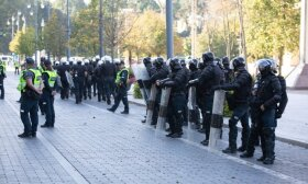Астраускайте разрешили провести еще один митинг в Вильнюсе