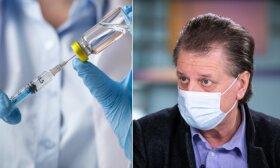 Профессор Чаплинскас о третьей дозе вакцины от коронавируса: нужна ли она, можно ли будет поменять вакцину?