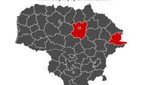 """Эпидемиологическая карта Литвы по-прежнему чернеет: осталось два """"красных"""" муниципалитета"""