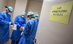 Ситуация неспокойная: за последние сутки значительно выросло количество пациентов Сантаришкской клиники