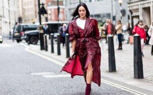 Ilgesnių kojų iliuziją galima sukurti drabužių pagalba