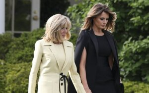 Brigitte Macron, Melania Trump