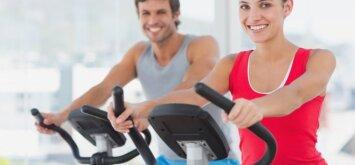 Specialistas: lankaisi sporto klube — rizikuoji savo sveikata