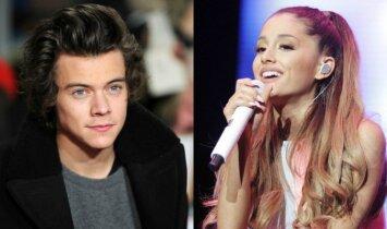 Širdžių ėdikas: Harry Stylesas pravirkdė Arianą Grande