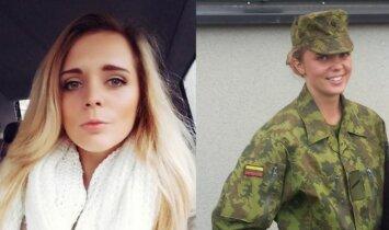 """Tikra istorija: """"fyfa"""" Greta, kuri nepabijojo nagų kariniuose mokymuose nusilaužti(INTERVIU)"""