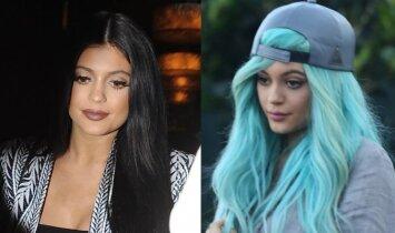 Pasišaipė? Kylie Jenner iššūkis sulaukė pamainos(VIDEO)