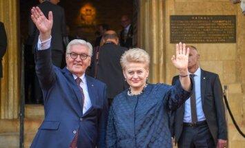Prezidentė atsiima Vestfalijos taikos apdovanojimą