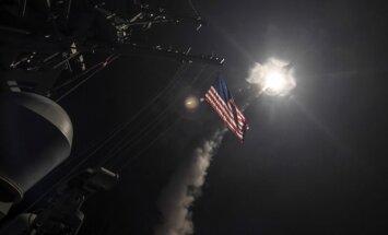 JAV pajėgos smogė Sirijai