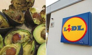 Prekybos centre – 40 kg supuvusių vaisių