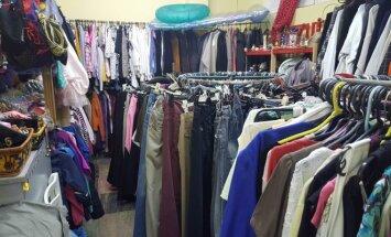 Radiniai dėvėtų drabužių parduotuvė Palangoje
