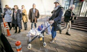 Pirmoji pabėgelių šeima atvyko į Lietuvą