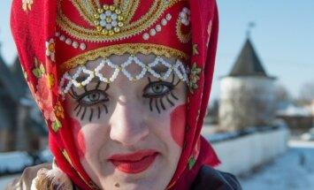 русская женщина