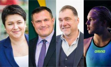 Įtakingiausi sporto srities atstovai 2017
