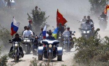 Vladimiras Putinas baikerių šventėje