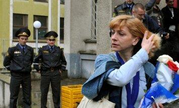 Baltarusijos žurnalistė Irina Chalip