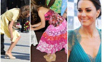 """7 kartai, kai <span style=""""color: #c00000;"""">Kate Middleton</span> sulaužė karališkųjų rūmų stiliaus taisykles"""