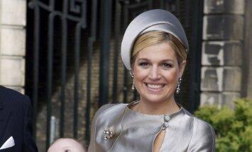 Olandijos karalius Wil emas Alexanderis ir karalienė Maxima krikštija jauniausią dukterį princesę Arianę