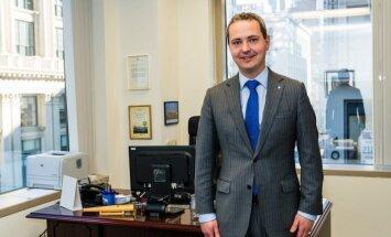 Julius Pranevicius, Lithuania's Consul General in New York City  Photo Ludo Segers