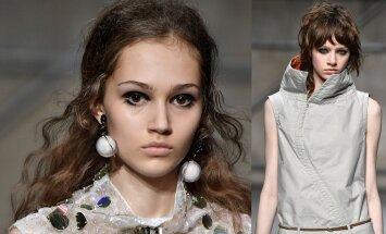 Vasaros stiliaus akcentai - išryškintos akys ir neįprasti kontūrai