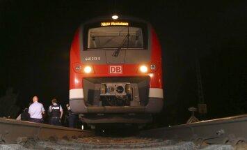 Vokietijos traukinyje – kruvina ataka