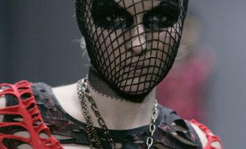 Gotų kultūrai skirtas modelis. Japonijos mados savaitė
