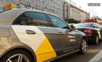 Yandex taksi / Yandex nuotr.