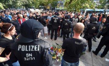 Neramumai Saksonijoje po vokiečio nužudymo