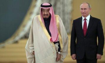 Saudo Arabijos karalius Salmanas, Vladimiras Putinas