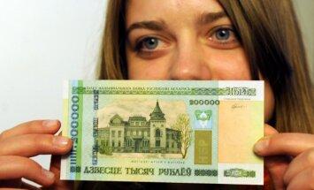 Baltarusijos 200 tūkst. rublių