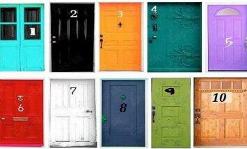 Išsirink vienas duris iš 10 ir pažiūrėk, ką tai atskleidžia apie tave