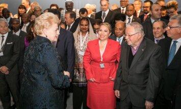 Dalia Grybauskaitė, Vytautas Landsbergis