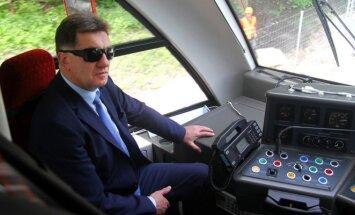 Algirdas Butkevičius apžvelgė Rail Baltica