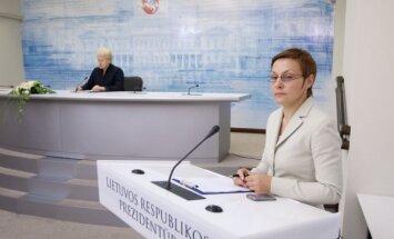 Dalia Grybauskaitė, Daiva Ulbinaitė