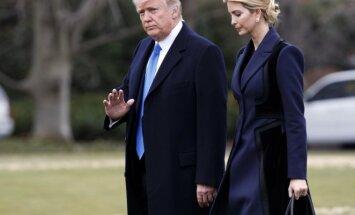 Donaldas Trumpas ir Ivanka Trump